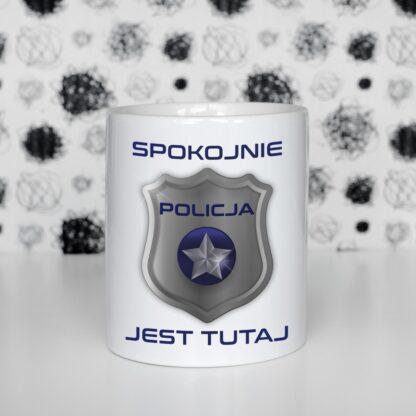 Kubek dla policjanta