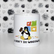 I don't do windows