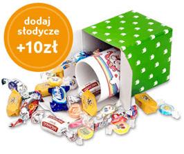 dodaj słodycze +10 zł